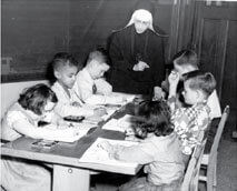 Students, Teachers at St. Anthony's