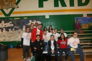 group photo for inclusive games